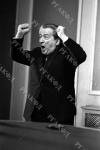 Писатель И.Л. Андроников во время выступления в издательстве «Правда». СССР, г. Москва. 1965 – 1969 гг. Фот. В.С. Тарасевич. Арх. № 0-367390 – 367394-ч/б