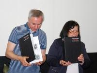 Демонстрация изданий архива, выдвигаемых на отраслевой конкурс