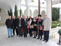 Участники конференции на территории Ливадийского дворца