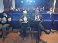 Перед началом заседания расширенной дирекции.