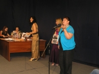 Церемония награждения победителей конкурса представителей творческой молодежи «Телемания»
