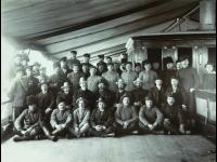 Возвращение на родину. На борту «Каледонии» в Кобэ