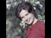 Портрет актрисы Н.Н. Фатеевой.  г. Москва, 1964 г.  Арх. № 1-4885 цв.