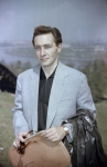 Портрет заслуженного артиста РСФСР В.В. Тихонова.  г. Москва, 1962 – 1965 гг.  Арх. № 1-5151 цв.