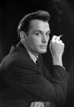Портрет актёра В.С. Ланового.  г. Москва, 1960-е гг.  Арх. № 1-114396 ч/б