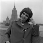 Актриса В. А. Малявина.  г. Москва, 1970 г.  Арх. № 1-115392 ч/б
