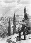 Вид на развалины города Афины  Греция. 1941 г.  Фотограф неизвестен  РГАКФД. Оп. 3, № 165, сн. 8