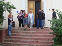 Эвакуация сотрудников РГАКФД
