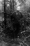 Александр Исаевич Солженицын – старший лейтенант, командир батареи звуковой артиллерийской разведки, кавалер ордена Отечественной войны II степени. Белоруссия, близ г. Гомель, 1944 г. Автор не уточнен. РГАКФД.