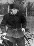 Александр Исаевич Солженицын во время пребывания в Рязани. г. Рязань, 1957 г. Автор Н.А. Решетовская. РГАКФД.