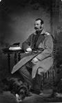 Портрет императора Александра II. Фотограф Александровский. РГАКФД.