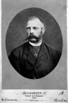 Портрет императора Александра II. 1876 г. Фотограф W. Sternitzki. РГАКФД.