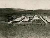 Лагерь Корниловского Ударного полка Галлиполи. Османская империя. 1921. РГАКФД