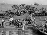 Голодающие беженцы. Поволжье 1921. РГАКФД