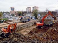 начало строительства корпуса РГАКФД роем котлован