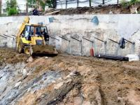 стройка нового корпуса РГАКФД подготовка фундамента
