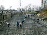 подготовка фундамента корпуса РГАКФД