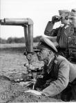 Немецкий наблюдательный пункт. 1941-1942 гг. Фотограф Функ. РГАКФД
