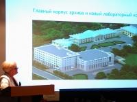 С сообщением выступает директор РГАКФД Н.А.Калантарова