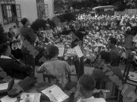 Пионеры лагеря «Артек» на концерте артистов Большого театра Союза ССР.