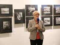 Директор РГАКФД Н.А. Калантарова на открытии выставки