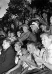 Первый Секретарь ЦК КПСС Н.С. Хрущев и Председатель Президиума Верховного Совета СССР К.Е. Ворошилов среди пионеров лагеря «Артек».