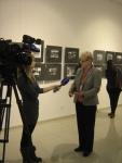 Директор РГАКФД Н.А. Калантарова дает интервью телеканалу «Россия. Кубань»