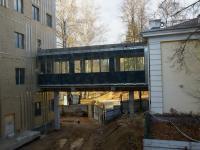 «Стройка века» – 2019 год - стройка нового корпуса РГАКФД сентябрь-октябрь. Мост-переход со старого корпуса в новый