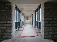 «Стройка века» – 2019 год. Строительство нового корпуса РГАКФД сентябрь-октябрь. Мост вид изнутри