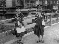 Японские школьники. Япония. Автор не установлен. РГАКФД.