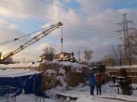 Строительство нового лабораторного корпуса - январь 2017