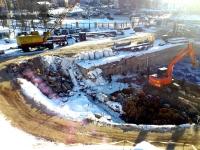 Строительство нового лабораторного корпуса - февраль 2017