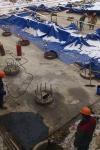 Строительство нового лабораторного корпуса - март 2017
