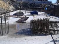 Строительство нового лабораторного корпуса - апрель 2017