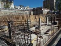Строительство нового лабораторного корпуса - май 2017