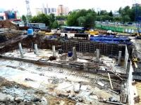 Строительство нового лабораторного корпуса - июнь 2017