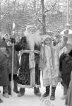 Новогодний праздник в московском саду «Эрмитаж». Москва, 1947 г. Автор Д. Шоломович. РГАКФД.