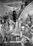 Праздничное представление на новогодней елке в Кремле. Москва, 1960 г. Автор Е. Кассин. РГАКФД.