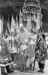 Новогоднее представление «Здравствуй, год пятидесятый» во Дворце спорта в Лужниках. Москва, 27.12.1966 г. Автор В. Соболев. РГАКФД.
